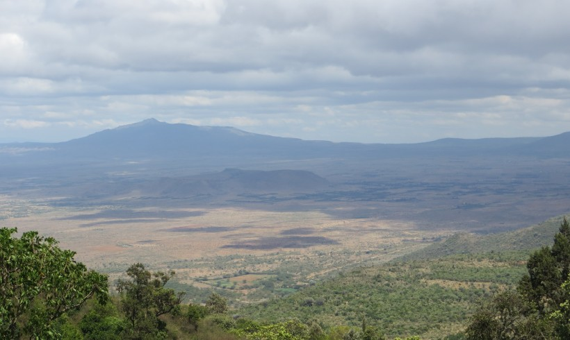 The Great Rift Valley close to Mai Mahiu