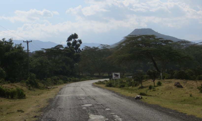 close to Lake Naivasha