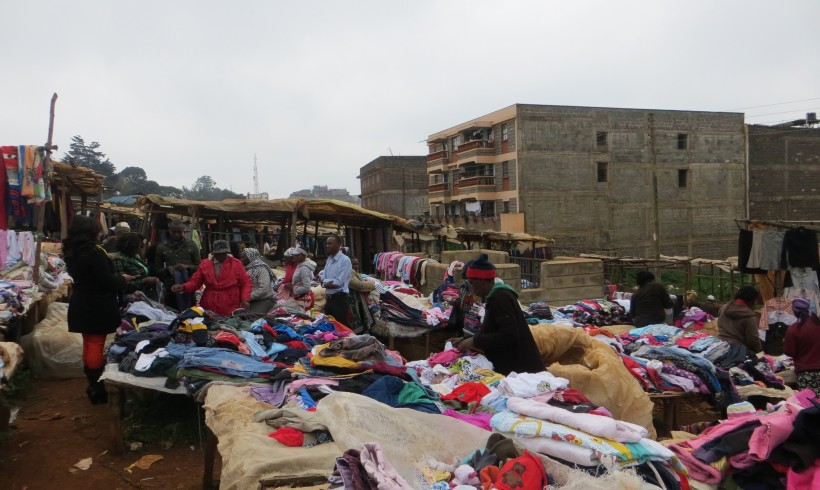 clothes market